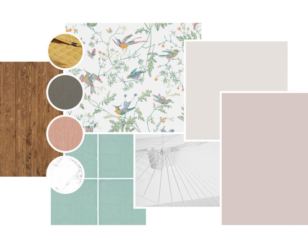 Moodboard, Interieur ontwerp, Interior design, materialisatie